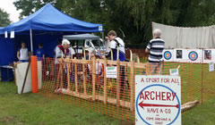 Friskney Archery Club at a Local Show
